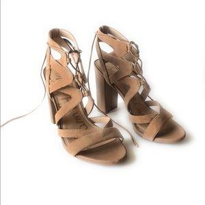 Sam Edelman Yardley High Heel Pump Shoes 8.5 Tan